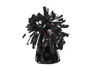 Ciężarek do balonów foliowy - czarny - 4 szt.
