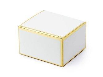 Pudełeczka - 6 x 3,5 x 5,5 cm - biały - 10 szt.