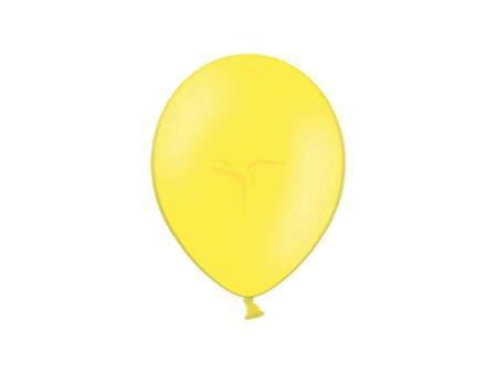 Balony Celebration 25 cm - żółte - 100 szt.