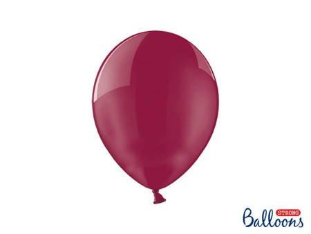 Balony Strong 27 cm - Crystal Maroon - 100 szt.