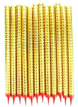 FONTANNY TORTOWE 26 CM. - ZŁOTE - SFX0907-12(S) - Surex - 12 szt.