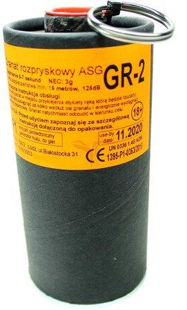 GRANAT ROZPRYSKOWY - Zawleczka - ASG - GR-2 - B&G