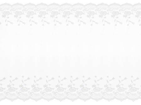 Koronka - 0,45 x 9 m - złamana biel