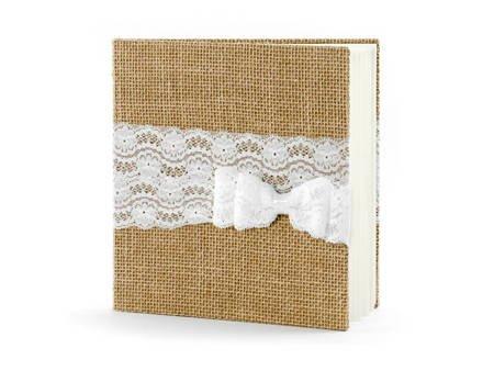 Księga gości - 20,5 x 20,5 cm - 22 kartki