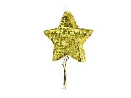 Piniata - Gwiazda - 44.5 x 42.5 x 9 cm
